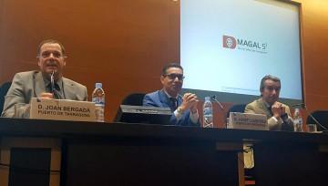Magal S3 presenta el proyecto de seguridad del puerto de Tarragona